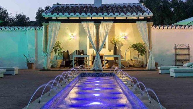 Boutique hotel spain Alhambra Garden