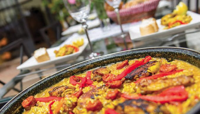 boutique hotel spain home cooked food
