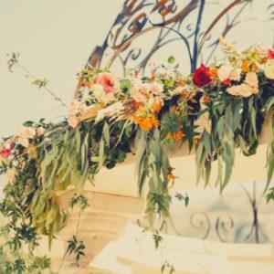 wedding arbour at Cortijo Sabila